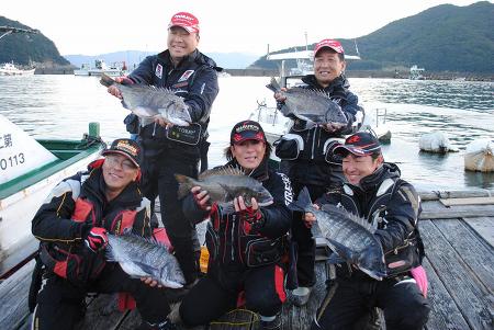 宿毛湾マッスル黒鯛(チヌ)ダービー
