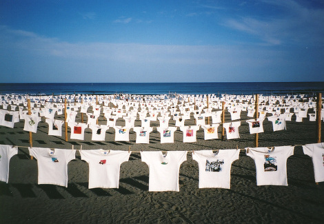第27回Tシャツアート展  開催:2015年5月2〜7日