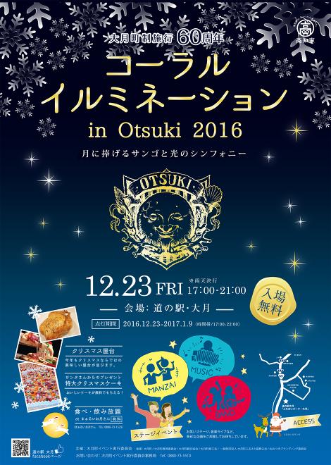 コーラルイルミネーションin Otsuki 2016